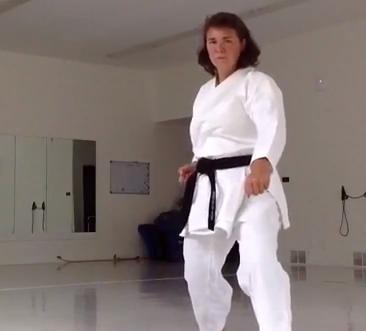Muscle Karate Woman Video 38